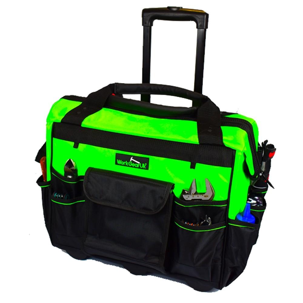 """Work Gear Uk 18"""" Rolling Tool Storage Bag WG-TX07"""