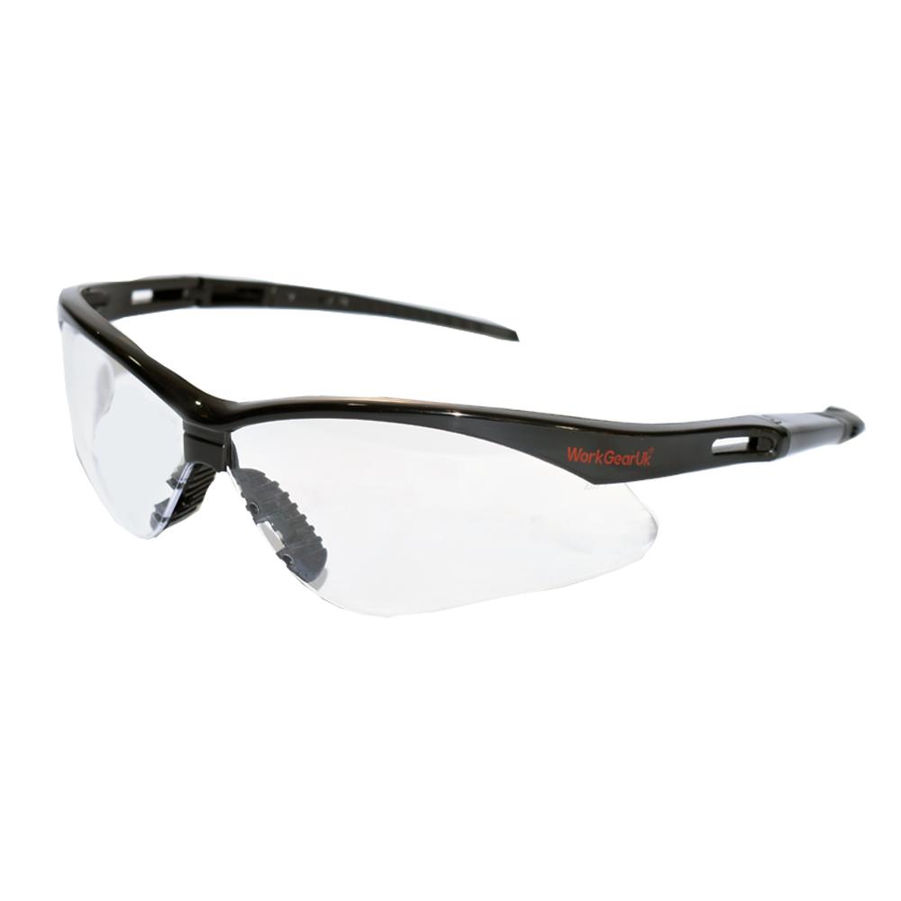 Work Gear Uk GX04 Clear Lens Safety Glass EN166 WG-GX04