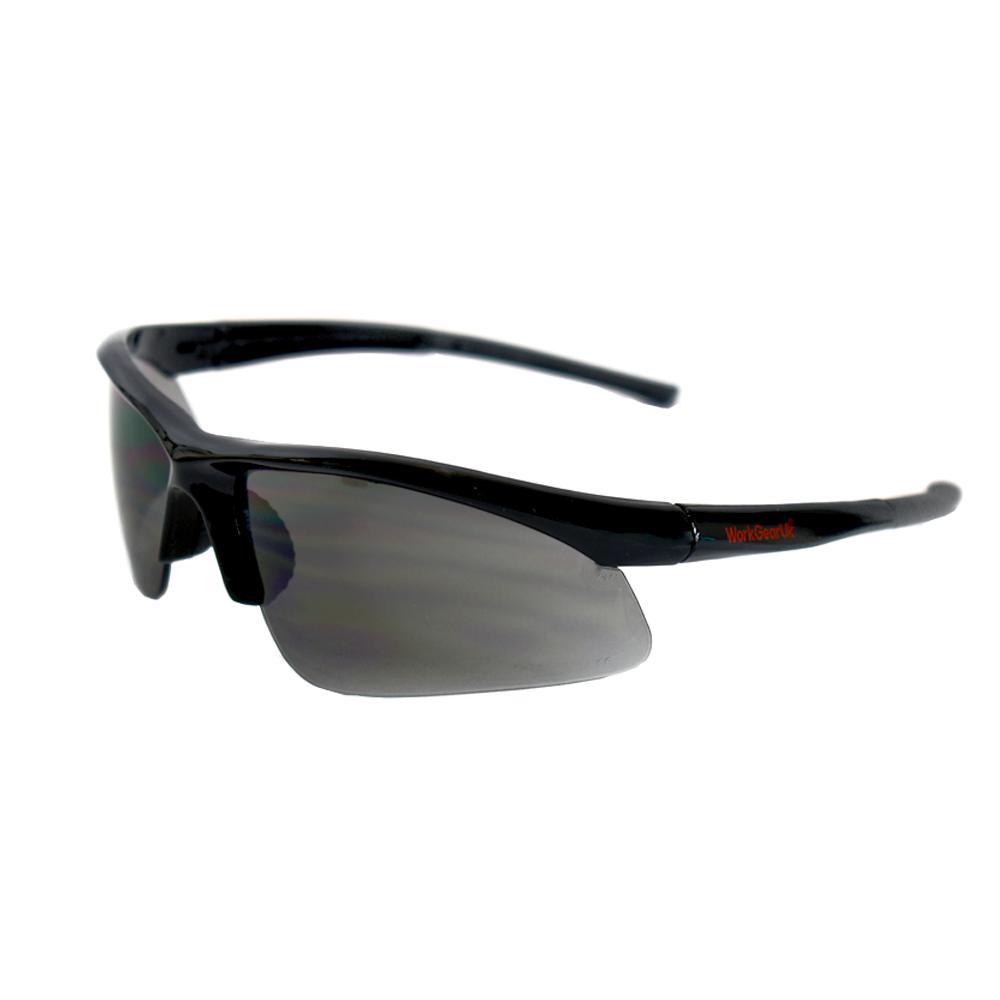 Work Gear Uk GX01 Smoke Lens Safety Glass WG-GX01