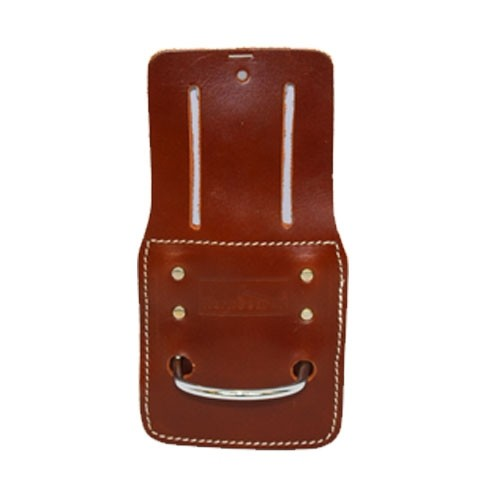WorkGearUk Hammer Holder Fixed type in Nickle with top grain leather back WG-PX37