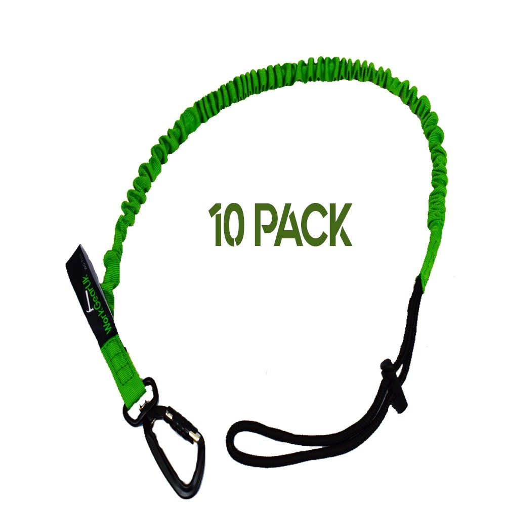 Tool Lanyard With a Swivel Carabiner With a 20mm Braided Strap WorkGearUk  WG-TL03