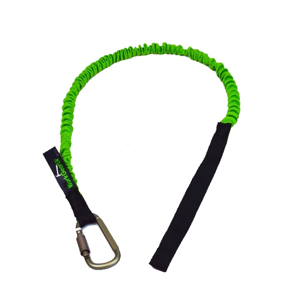 Tool Lanyard With Carabiner With a 20mm Braided Strap WorkGearUk  WG-TL02