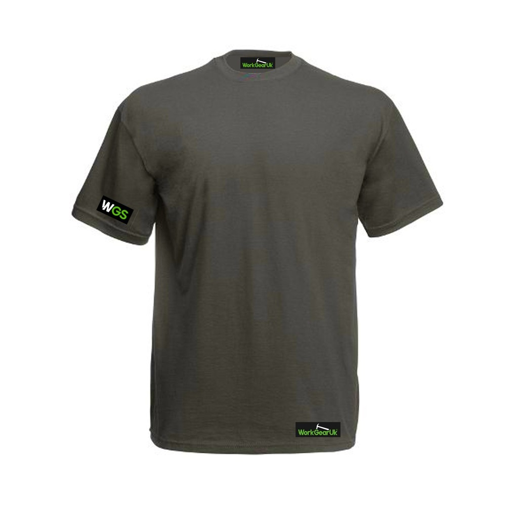 WorkGearUK T Shirt Grey WG-TS01