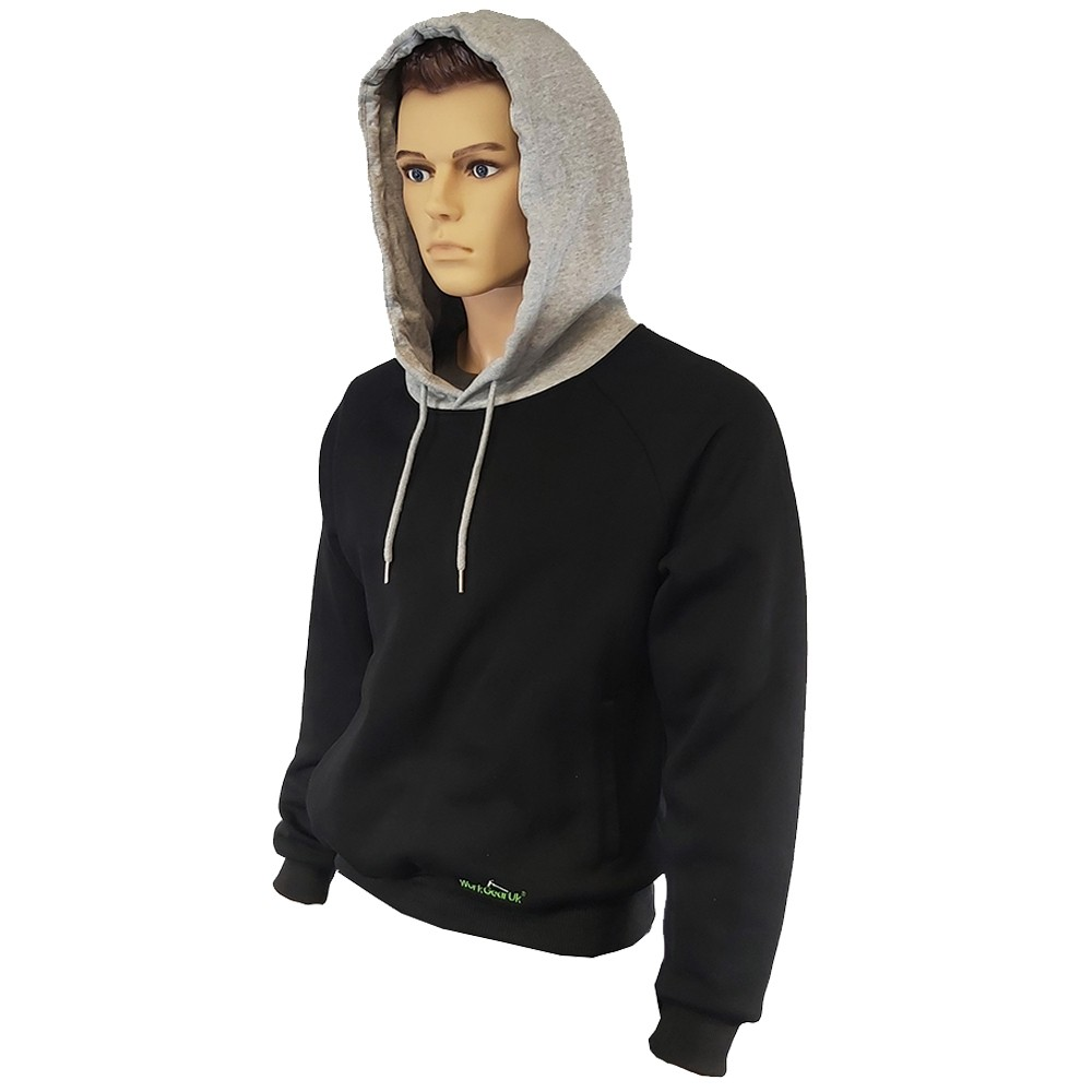 WorkGearUk Hooded Sweat Shirt Fleece Designed for Comfort WG-HD01